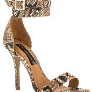 steven by steve madden snakeskin heels